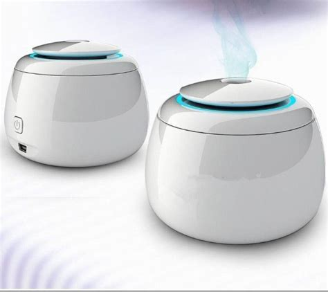 Aromatherapy Purifier Air Cleansing System 6 In 1 mini ultrasonic aroma led humidifier air diffuser purifier atomizer essential diffuser