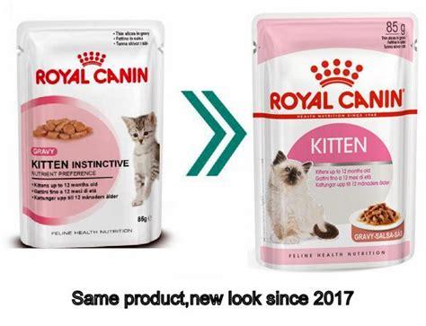Royal Canin Wetfood Kitten Instinctive royal canin kitten instinctive cat food 12 85g pouch