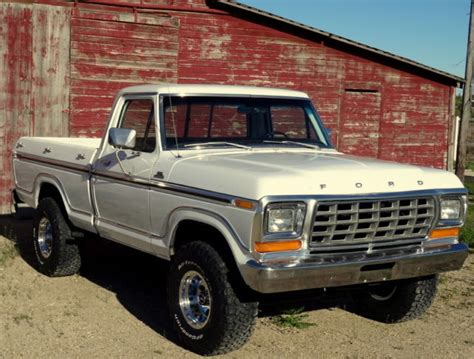 1979 Ford F150 4x4 For Sale by 1979 Ford F150 Ranger 4x4 Shortbox 2 Owner