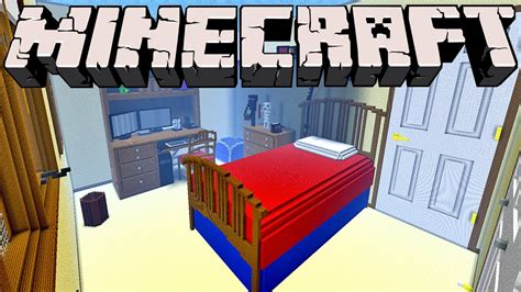 giant bedroom giant minecraft bedroom 1 inch scale model youtube