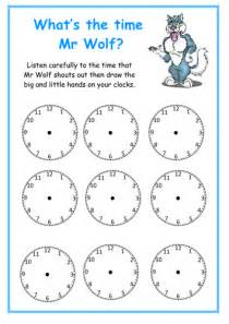 What time is it mr wolf by tinytweeties uk teaching resources