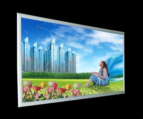 photo frame with led light aluminium snap frame led light box