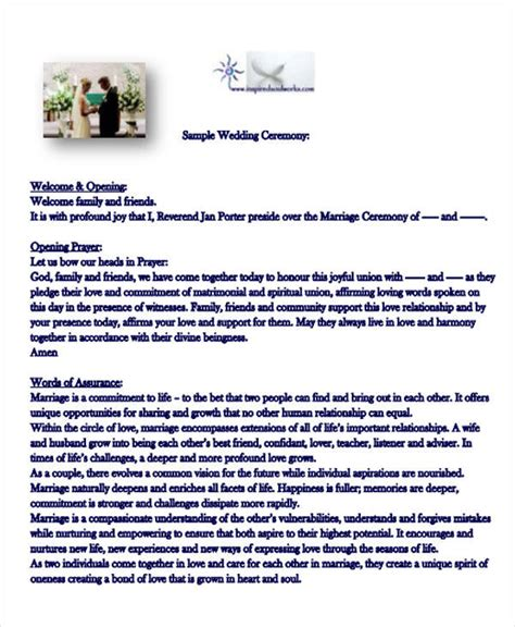 Wedding Ceremony Introduction 51 introduction speech sles pdf doc sle templates