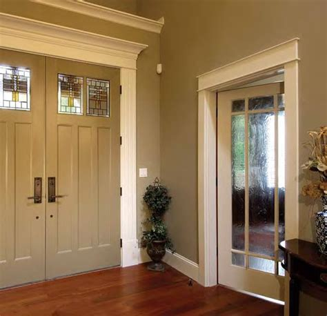 Craftsman Interior Trim Ideas by Interior Moulding Craftsmans Cottage Exterior Doors Dash Windows Of Island Ny