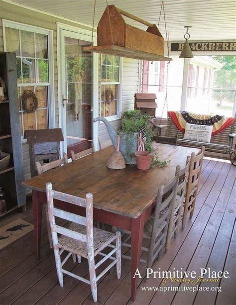 Front Porch Table 25 Best Ideas About Country Porches On