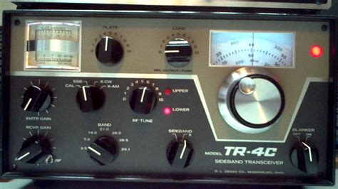 what of is tr tr 4c tuning up ham radio