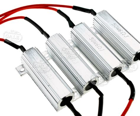 load ballast resistor 4x led indicator flash rate relay load resistor bulbs ballast 50w 6ω au stock