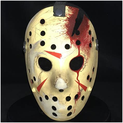 jason hockey deluxe jason hockey mask part 4 mad about horror