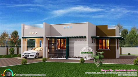 design home 880 sqft 1500 square foot house kerala home design and floor plans