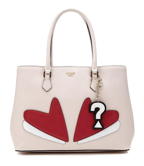 pop borsa guess pin up pop borsa a mano con tracolla cammeo