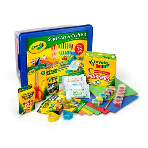 arts and craft kits for crayola craft kit