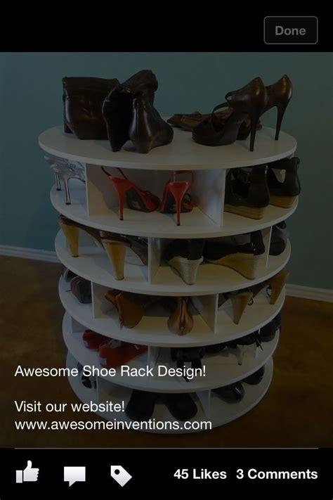 shoe carousel shoe carousel closet organization