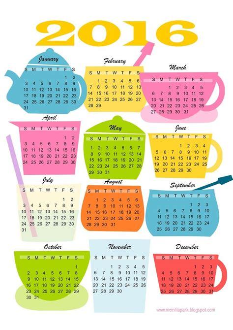 Plánovací Kalendář Na Rok 2018 17 Best Images About Kitchen Printables On