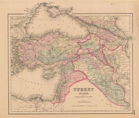 middle east map pre 1900 middle east antiques us