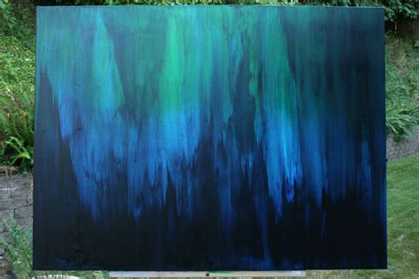 Blue Green Paint by Blue And Green Abstract Paintings Www Imgkid Com The