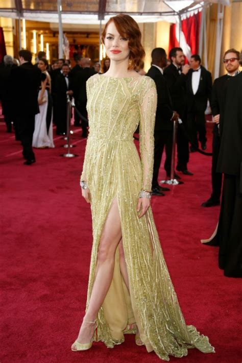 emma stone red carpet dresses 15 best red carpet dresses of 2015 that made us go oooh