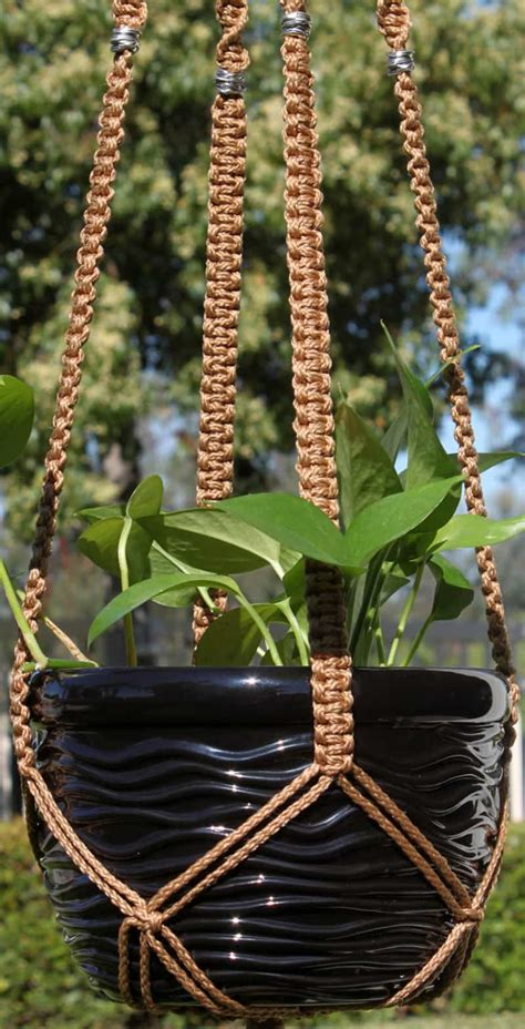 Free Macrame Plant Hanger Patterns - macrame plant hanger patterns to embellish any rustic or