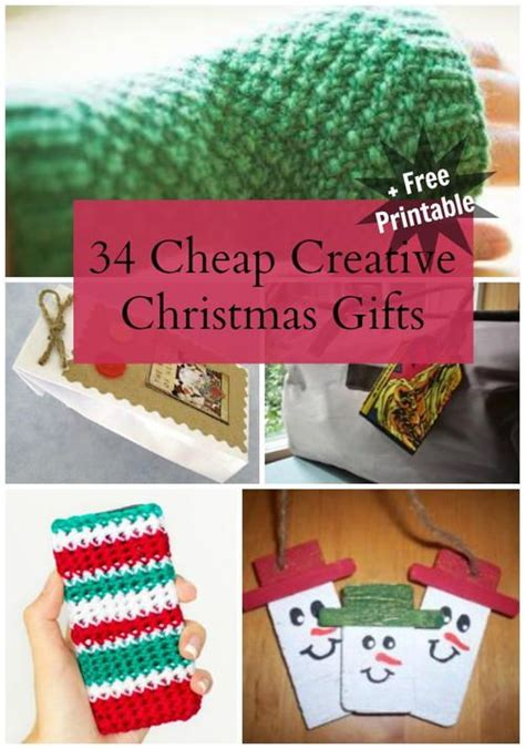 34 cheap creative christmas gifts pinterest gifts