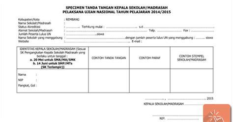contoh format askep komunitas download contoh format specimen tanda tangan kepala