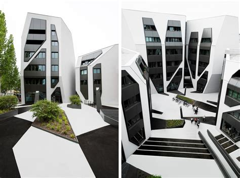 office courtyard design sonnenhof office and residential buildings by j mayer h