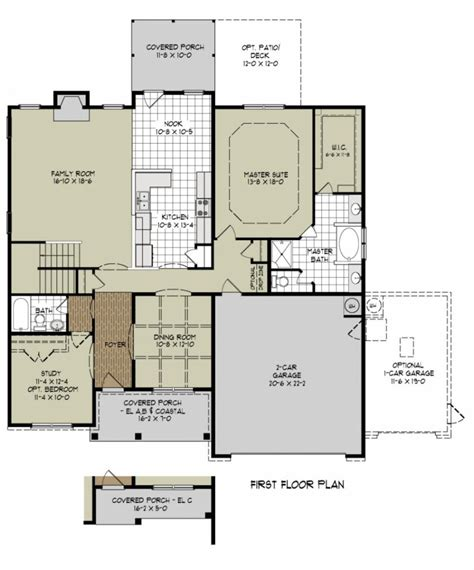awesome new home floor plan new home plans design