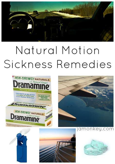 motion sickness remedies jamonkey