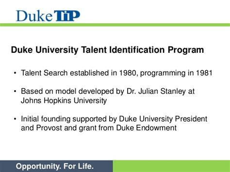 Talent Search Duke Tip Asset Talent Search