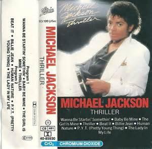 michael jackson thriller cassette michael jackson thriller cassette album ebay