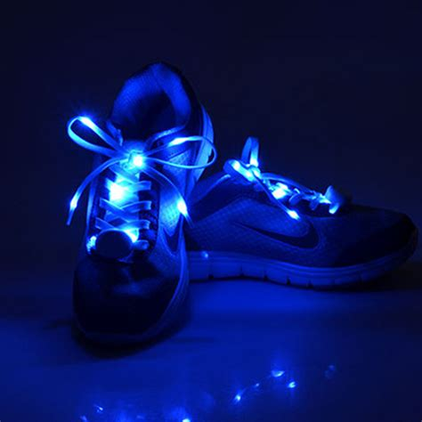 Led Cool Shoes S020 cool fashion led shoelaces 103cm shoe laces flash light up glow stick flat shoelaces disco