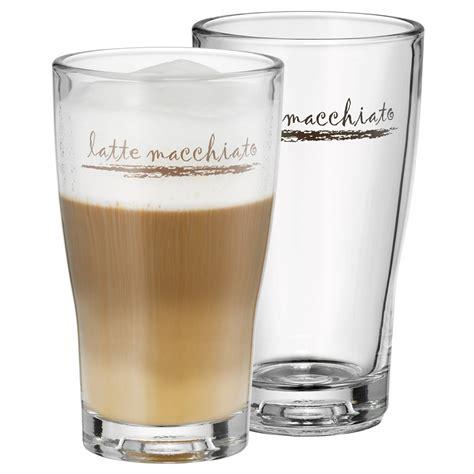 Gelas Latte latte macchiato glass set