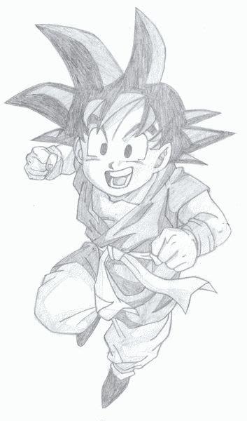 imagenes de goku hechas a lapiz mis dibujos de goku hecho a lapiz taringa