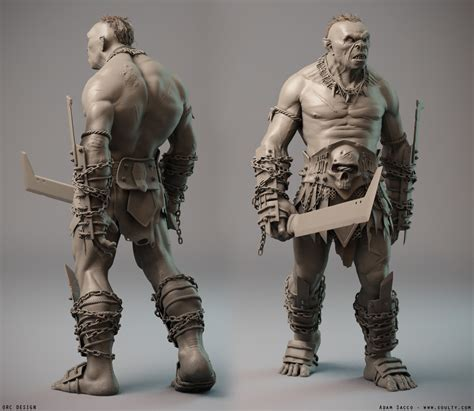 zbrush orc tutorial vray 3 render scenes and materials online store 3d