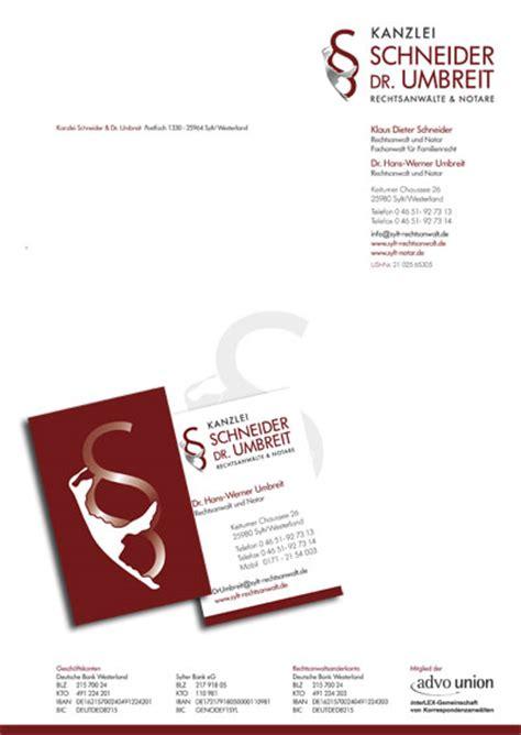 Gesch Ftspapier Vorlagen Muster designbuero schmidt briefbogen geschaeftspapiere