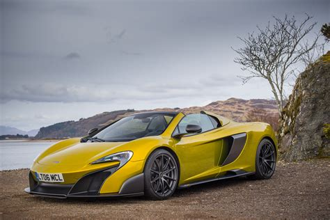 mclaren supercar wallpaper mclaren 675lt spider supercar yellow cars