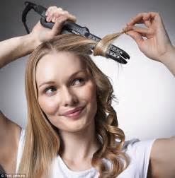 curling hair how to curl hair with straighteners follow our step by