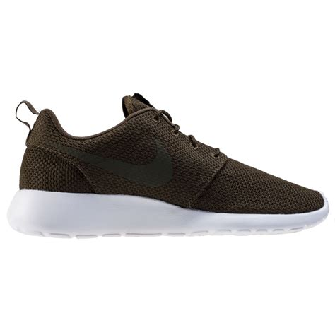nike roshe one mens trainers khaki new shoes