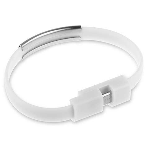 Lm1708 Wrist Silicone Bracelet Micro Usb To Usb Smartphone Gelang Kabe wristband bangle silicone bracelet micro usb charger data cable for smart phones ebay