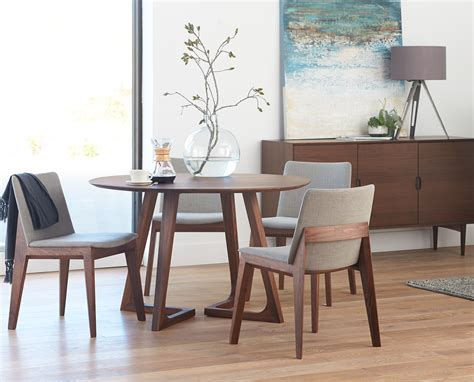 circular dining room table round table and chairs from dania condo pinterest