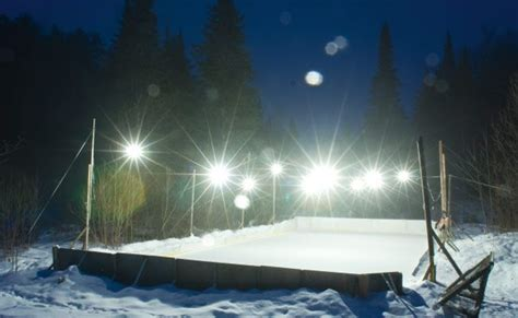 backyard ice rink lights from the print edition pure joy on ottawa s outdoor rinks