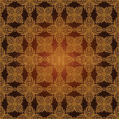 brown royal pattern vintage beautiful background with rich old style luxury