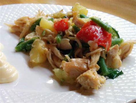 pollo cucinare pollo in insalata ricetta
