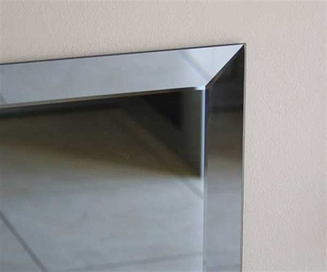 bathroom mirror bevelled edge mirrors westport glass products