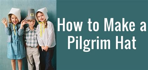 How To Make A Pilgrim Hat Out Of Paper - how to make a pilgrim hat