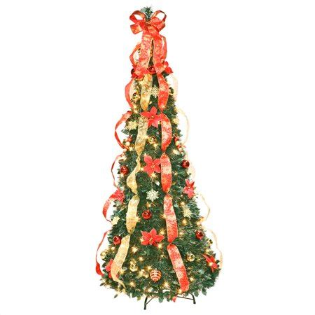 walmart pull up christmas tree 6 poinsettia pull up tree by peaktm walmart