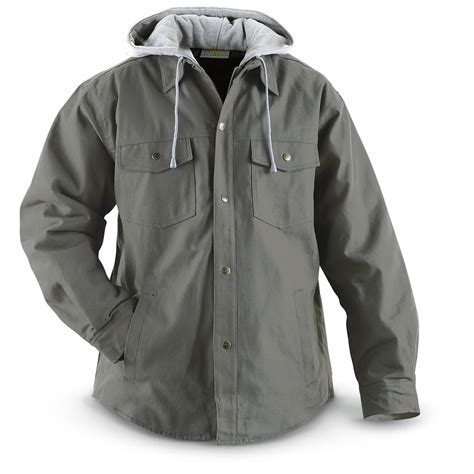Hooded Jacket utility pro wear work canvas hooded jacket 223215