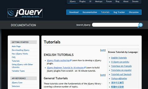 jquery design guidelines 9 great resources for keeping your skills fresh