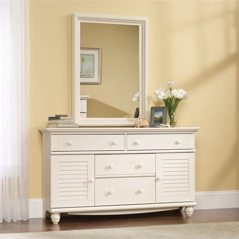 sauder harbor view bedroom set sauder harbor view antiqued white dresser ebay