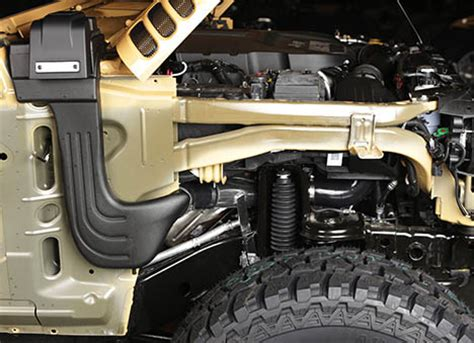 jeep snorkel exhaust jeep wrangler snorkels by rugged ridge