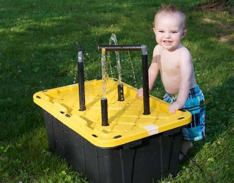 water play table for toddlers 20 cool diy play tables for a room kidsomania