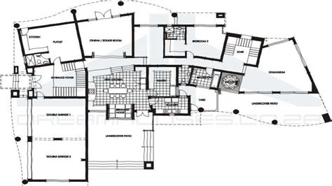 floor plans for contemporary homes very modern house plans contemporary house floor plans